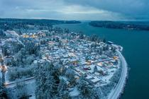 Winter Wonderland on the Sound Another Steilacoom shot from yesterday morning