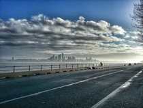 Winters morning in Liverpool  OC