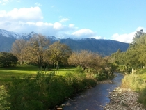 Wintertime in Swellendam South Africa
