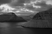 Wintry Silence at the Faroe Islands