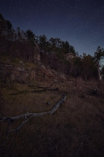 Wisconsin Woodlands- Quincy Bluffs Under the Stars