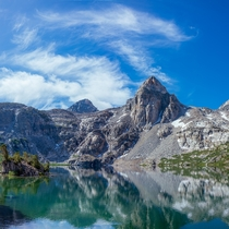 Wishing I was at Upper Rae Lake instead of locked away at home Kings Canyon National Park California