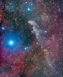 Witch Head Nebula - IC  - Deep Sky West Remote Observatory