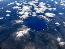 With no inflowing or outflowing rivers the water in the United States deepest lake m is only replenished by rainsnow fall Crater Lake Oregon from  ft