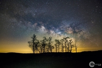 With plenty of places to park in Big Meadows at Shenandoah National Park VA it is one of the easiest places to observe a clear dark sky