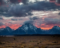 Witnessed so many amazing sunsets after tenting in this beautiful place for over  days - Grand Teton NP  ig travlonghorns