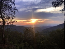 Wivenhoe lookout Mt Glorious DAguilar National Park QLD Australia