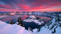 Wizard Island Crater Lake OR