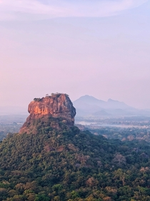Woke up at  AM to go on a sunrise hike and capture first light over the Sri Lankan countryside