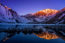 Woke up at dawn  days in a row for these colors Convict Lake CA