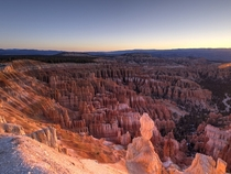 Woke up early to catch the sunrise at Bryce Canyon UT