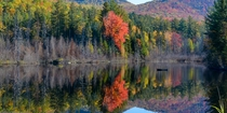 Wolf Pond in Lake Placid upstate NY