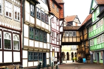 Wolfenbttel Lower Saxony Germany Holds the largest concentration of Half-Timbered houses in Germany
