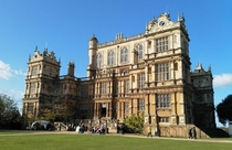 Wollaton Hall Nottingham th-century English Renaissance style mansion housing natural history museum set in parkland
