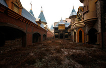 Wonderland Amusment park in China Abandoned halfway through construction