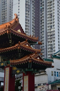 Wong Tai Sin Temple in Kowloon Hong Kong