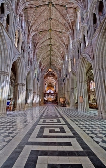 Worcester Catheldral in England