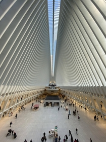 World Trade Center Station from Church St Balcony  x