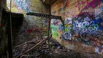 World War I Rifle Range Turned into Massive Canvas
