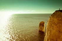 Worlds Edge Old Harry Rocks Dorset  xpost from rseaporn