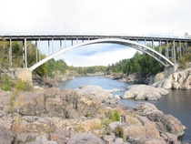 Worlds first aluminium bridge in Arvida Qubec