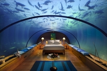 Worlds first underwater hotel