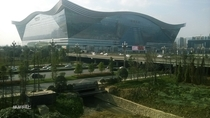 Worlds largest building by floor area Chengdu global center
