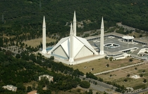 Worlds th Largest Mosque Faisal Mosque Islamabad Pakistan