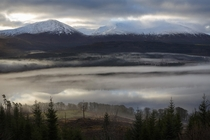 Worlds within worlds on a misty morning Glengarry Scotland x