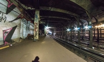 Worth St Station NY Completed in  abandoned in  to accommodate expansion of the Brooklyn Bridge station x
