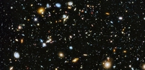 Wow A Hubble ultra deep field image taken a while back that captured over  galaxies This image just blows my mind on so many levels