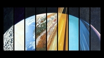 WQHD p wallpaper remake of the Steve Gildeas Planetary Suite