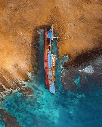 Wreck of an illegal fishing vessel on the Spanish coats Photo by jordisark