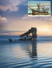 Wreck of the Peter Iredale  to  Fort Stevens OR