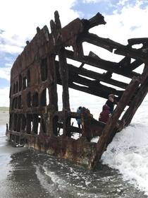 Wreck of the Peter Iredale Warrenton Oregon