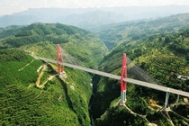 Wulinghsan Bridge China