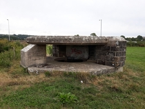 Ww anti-tank bunker in Axminster UK Part of the Taunton stop line against invasion