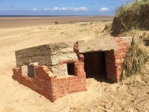 WW Coastal Pillbox Hunstanton England