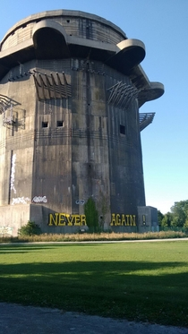 WW flak tower Vienna Austria