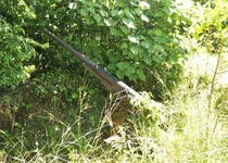 WW Japanese gun left from Palau defense Any guesses as to what kind