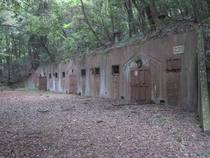 WWII Ammunitions bunker Inagi Tokyo
