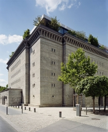 WWII bunker converted to art gallery and residence Berlin