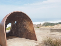 WWII gun emplacement Mornington Peninsula Australia OC