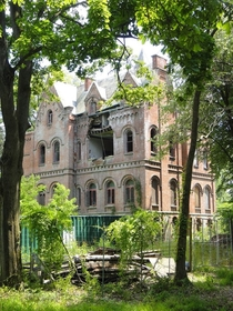 Wyndcliffe abandoned mansion in Rhinebeck New York