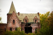 Wyndcliffe abandoned mansion in the Hudson River Valley