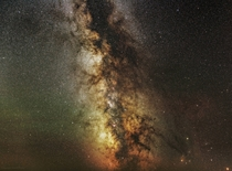 x Milky Way panorama  hours of total exposure
