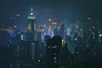 x-post from rChinaPics Hong Kongs Central District  by Peter Stewart