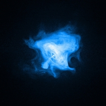 X-Ray image of the Crab Pulsar by Chandra
