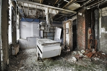 X-Ray Room Inside The Abandoned St Josephs Hospital in Parry Sound Ontario