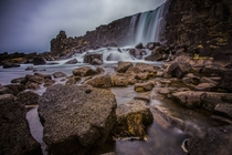 xarrfoss at ingvellir National Park - Iceland